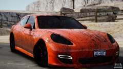 Porsche Panamera Turbo 2010 Black Edition для GTA 4