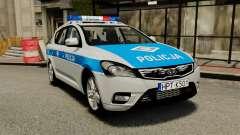 Kia Ceed 2011 SW Polish Police ELS для GTA 4