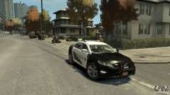 Ford Taurus Sheriff 2010 для GTA 4