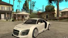 Audi R8 5.2 FSI custom для GTA San Andreas
