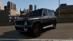 Mercedes Benz G55 AMG Aka Eurosport body kit для GTA 4