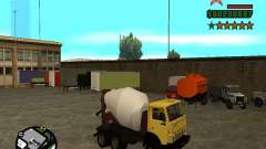 КамАЗ 53112 Бетономешалка для GTA San Andreas