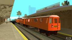 Liberty City Train CP для GTA San Andreas