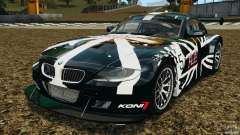 BMW Z4 M Coupe Motorsport