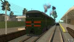 Локомотив 2ТЭ116 для GTA San Andreas