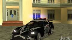 Chevrolet Cross Corvette C6 для GTA San Andreas