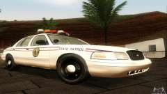 Ford Crown Victoria North Dakota Police для GTA San Andreas