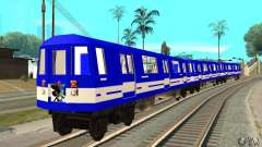 Liberty City Train Sonic для GTA San Andreas