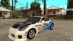 Nissan 350z Stock - Tunable для GTA San Andreas