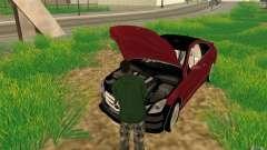 CLEO мод: CJ может чинить машину