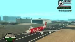 Airbus A380 800 Air Asia для GTA San Andreas