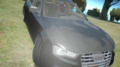 Audi A6 Avant Stanced для GTA 4