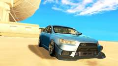 Mitsubishi Lancer Evolution X Time Attack для GTA San Andreas