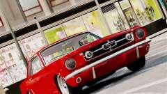Ford Mustang GT MkI 1965 для GTA 4