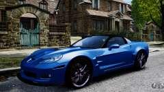 Chevrolet Corvette ZR1 для GTA 4