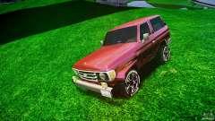 Toyota Land Cruiser 4.5 V2 для GTA 4