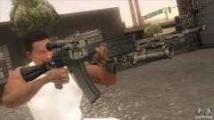 АК-47 v2 для GTA San Andreas