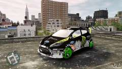 Ken Block Ford Fiesta 2011 для GTA 4