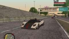 Pagani Zonda Cinque Roadster V2 для GTA San Andreas