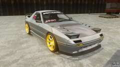 Mazda RX-7 FC3S v1.0 с винилом для GTA 4