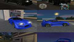 Toyota Supra 2006 Most Wanted для GTA San Andreas