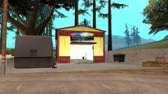 Новый покрасочный гараж в Dillimore для GTA San Andreas
