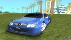 Mercedes-Benz CLK500 C209 для GTA Vice City