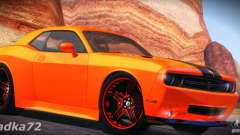 Dodge Quinton Rampage Jackson Challenger SRT8 V1.0 для GTA San Andreas