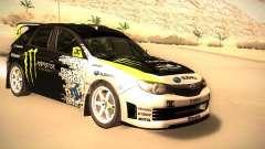 Subaru Impreza Gymkhana для GTA San Andreas
