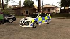 Mitsubishi Lancer EVO 8 Uk Policecar