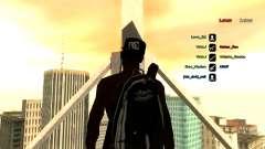 Рюкзак-парашют для GTA:SA для GTA San Andreas