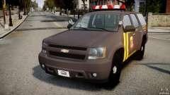 Chevrolet Tahoe Indonesia Police