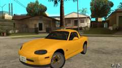 Mazda MX-5 JDM Coupe для GTA San Andreas