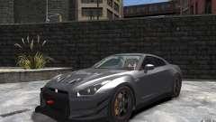 Nissan GT-R v1.1 Tuned для GTA 4