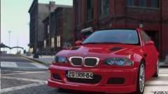 BMW M3 Street Version e46 для GTA 4