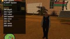 GTA IV peds to SA pack 100 peds