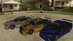Nissan SkyLine R-34 Tunable для GTA San Andreas
