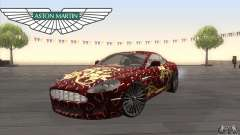 Aston Martin DB9 Female Edition для GTA San Andreas