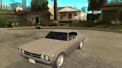 1969 Chevrolet Chevelle для GTA San Andreas