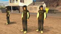 Ken Block Family для GTA San Andreas