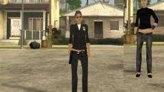 Скин девушки ПД для GTA San Andreas