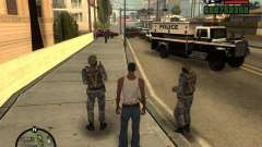 Русский ОМОН для GTA San Andreas