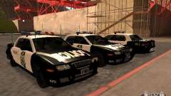 Police Civic Cruiser NFS MW для GTA San Andreas