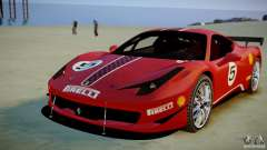 Ferrari 458 Challenge 2011 для GTA 4