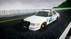 Ford Crown Victoria v2 NYPD [ELS] для GTA 4