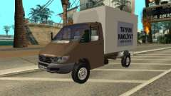 Mercedes-Benz Sprinter олива для GTA San Andreas