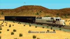 Отцепка вагонов для GTA San Andreas