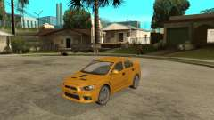 Mitsubishi Lancer Evolution X - Shark - Акула для GTA San Andreas