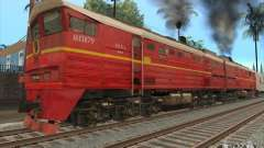 2ТЭ10В-4833 для GTA San Andreas