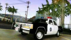Ford Crown Victoria LTD 1991 SFPD для GTA San Andreas